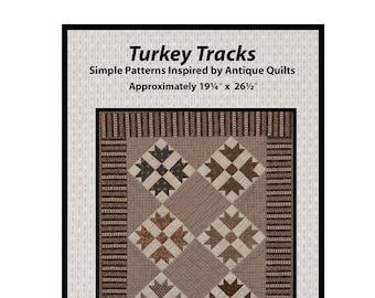Turkey Tracks Downloadable Pattern