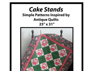 Cake Stands Quilt Pattern