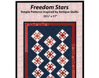 Freedom Stars Petite Quilt Pattern