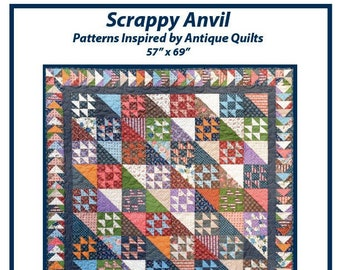 Scrappy Anvil Quilt Pattern