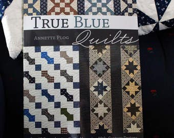 SALE! True Blue Quilts by Annette Plog