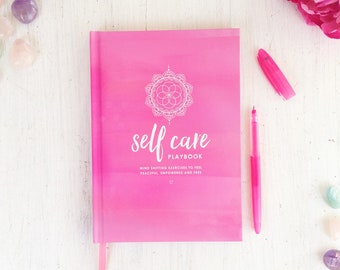 Self Care Journal For Mindfulness, Self love, Wellness And Positivity