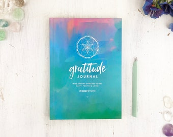 Gratitude Journal for Happiness, Mindfulness and Positivity