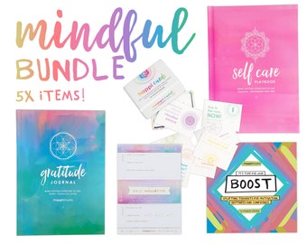 Mindful gift pack | Care Package | Inspiring gift set | Journal | Self care gift | Happiness gift | Mindfulness gift | Positive gift