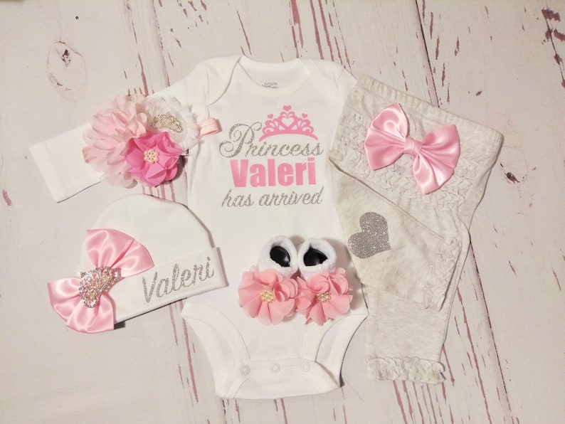 984ad21a605e Baby girl coming home outfit newborn baby girl take home