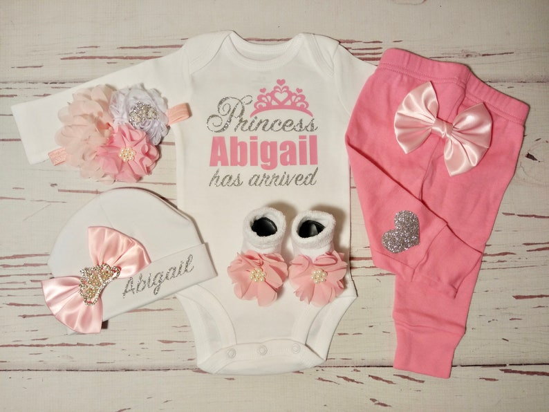 newborn baby girl going home outfit baby girl coming home outfit clothes for girls baby girl clothes newborn girl take home set personalized