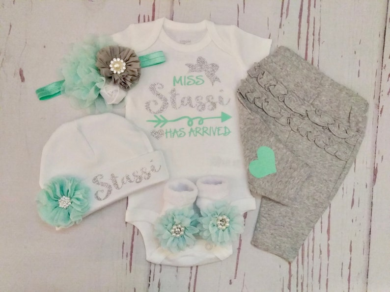 416f420ebb5b Baby girl coming home outfit baby girl take home outfit | Etsy