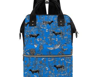 """Fluffy Layers """"Laura"""" Large Convertible Backpack / Handbag"""