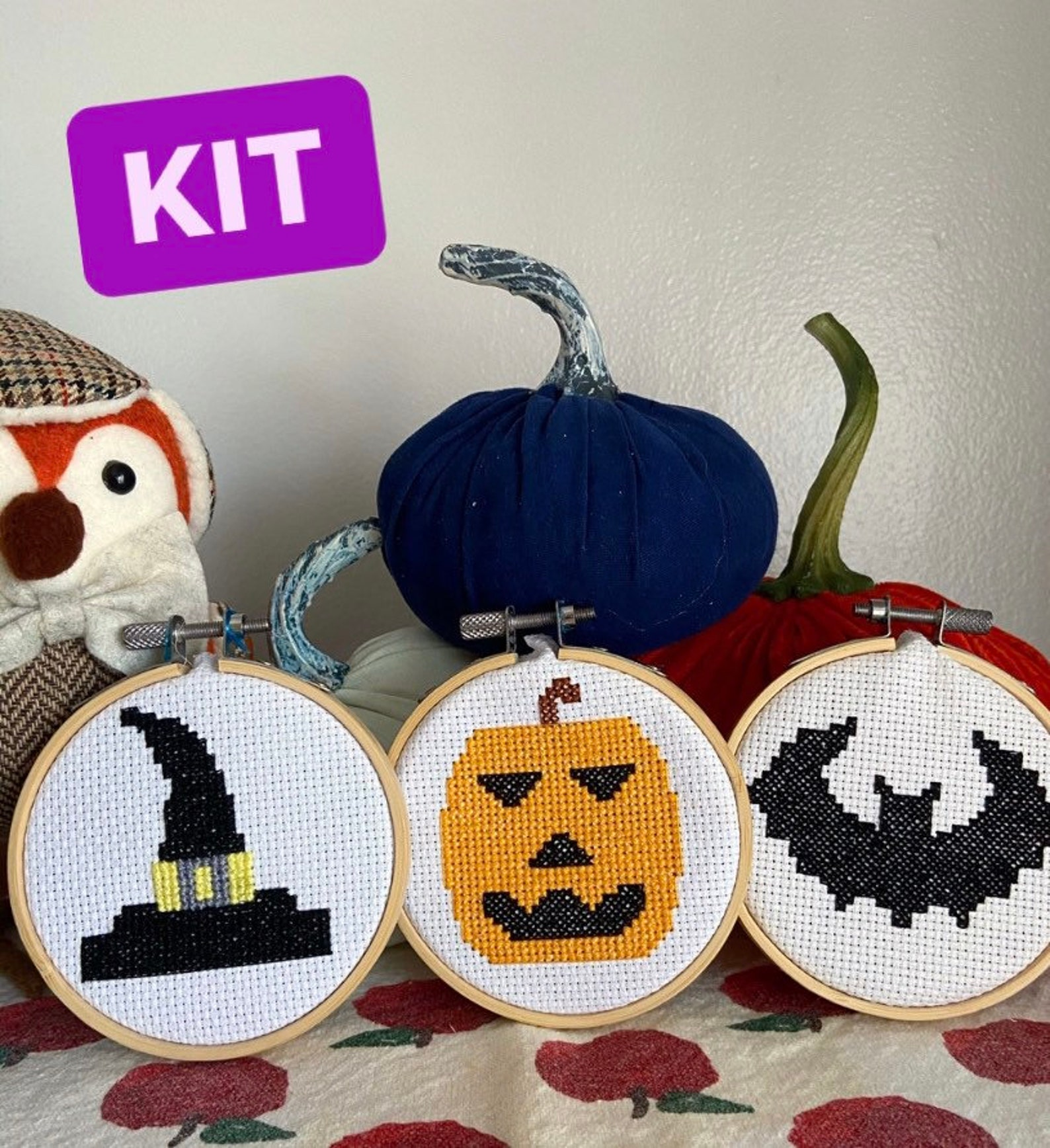Halloween Cross-Stitch