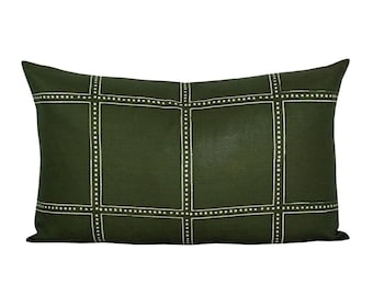Postage lumbar pillow cover in Campaign