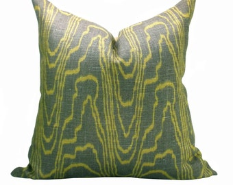 Agate pillow cover in Taupe/Gold