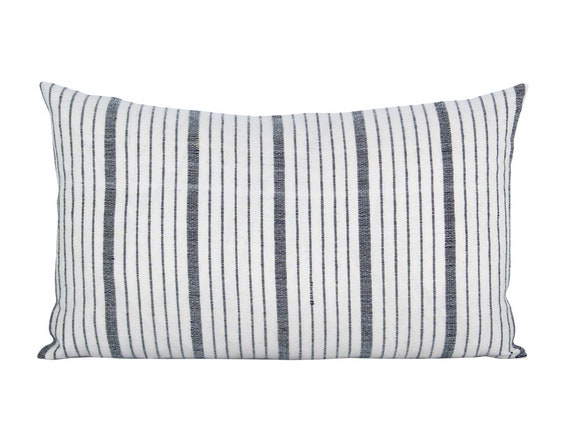 Shop Pillow cover Cusco Stripe Natural lumbar stripe Spark | Etsy from Etsy on Openhaus