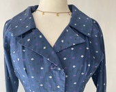 1950s Blue Dress
