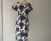 Floral Dress 1950s-1960s