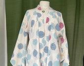 Haori Jacket, Leaf pattern Vintage Kimono