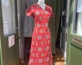 1960s Original Handmade Dress, Unworn Vintage