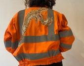 Rough Cut Reflective Work Jacket
