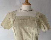 Handmade 1960s Dress