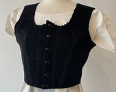 Cropped waistcoat traditional costume from Eastern Europe