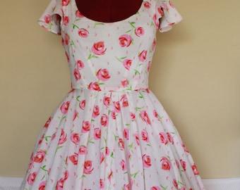 Vanilla Cream Soda Swing Dress - Custom Made