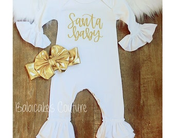 13def1f5b65 Baby s First Christmas Outfit