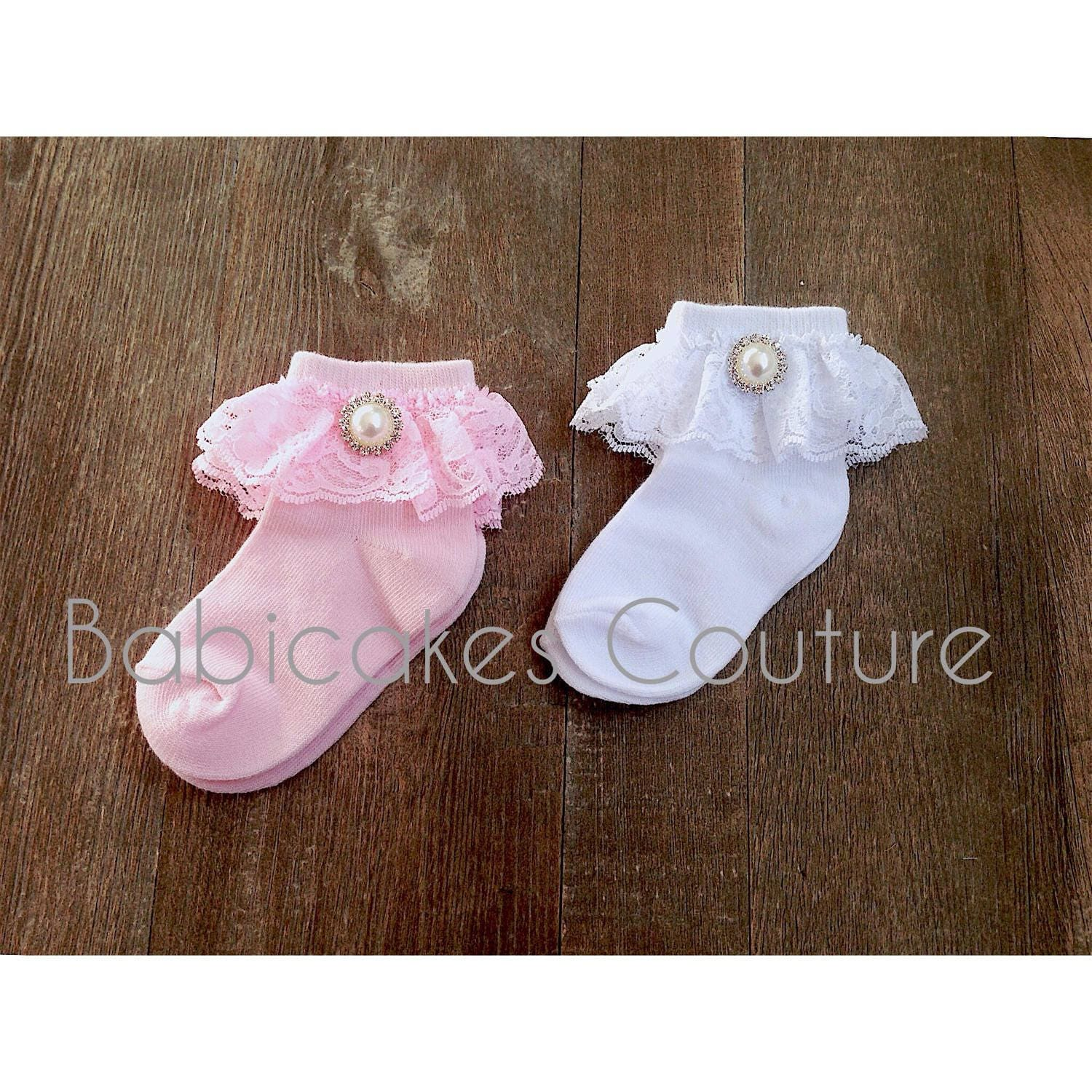 Fancy Baby Socks Baby Girl Socks Lace Baby Socks Special