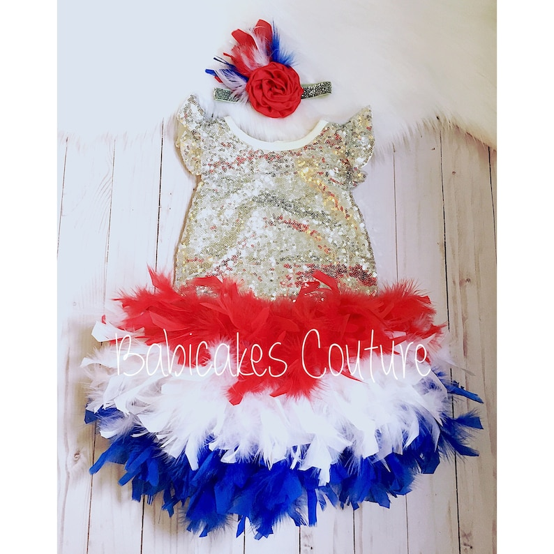 baby bloomer diaper cover boutique satin 4th of july patriotic stars