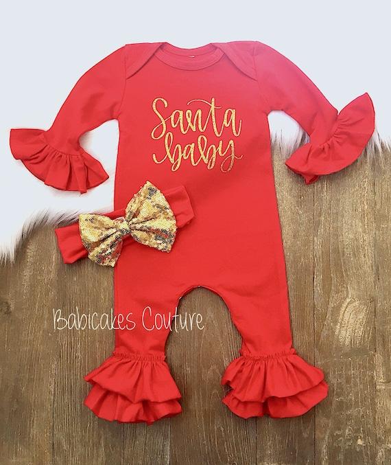 Mijn eerste kerst Baby eerste kerst Outfit door