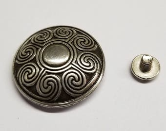 Celtic Concho Screw Back Conchos, Leather working Conchos