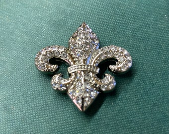 Medieval Multiple Fleur De Lis Sterling Silver Concho Leather Crafting Supply