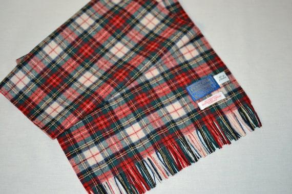 Pendleton® Scarf Stewart Dress Tartan Plaid 12x51… - image 5