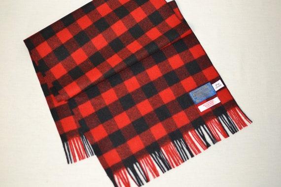 Pendleton® Scarf red and black Buffalo Plaid Check
