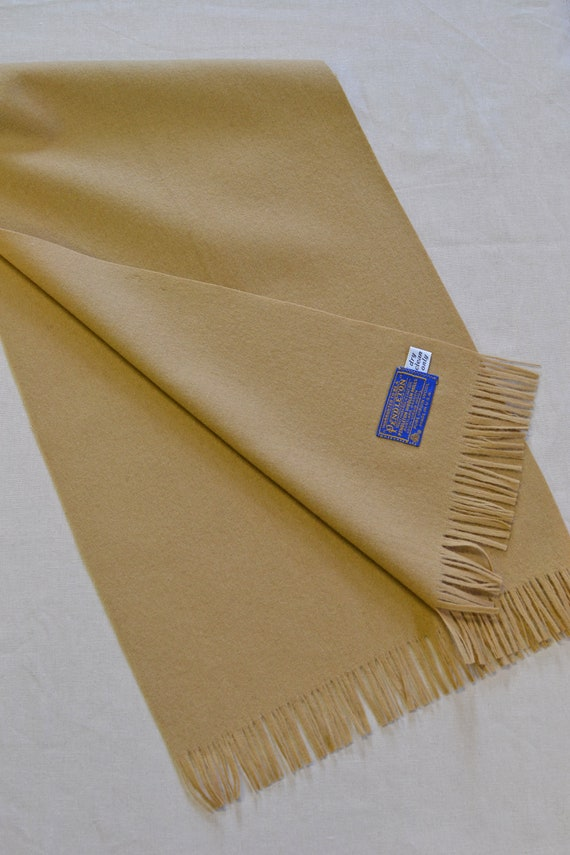 Pendleton® Scarf Classic Wool Camel Scarf mens or
