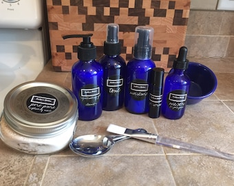 The Southern Kitchen Beauty Box Essential Facial Care Starter Kit - Vegan, Natural & Toxin Free!