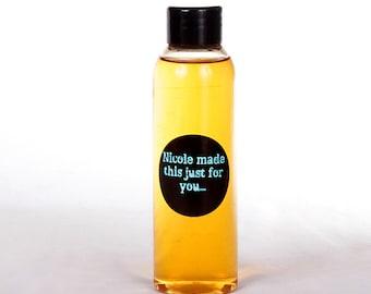 8 oz Naturally Derived pH Balanced Sulfate & Paraben Free Delicate Feminine Cleanser - Bottled Fresh to Order