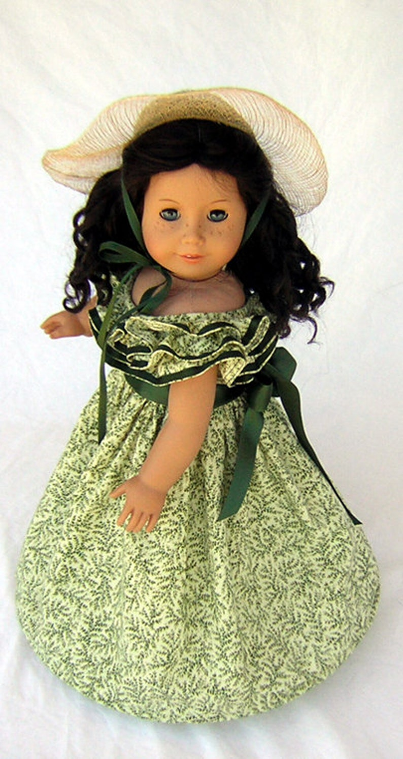 1d7f3f672 Gone with the Wind Dress Fits American Girl Civil War Dress