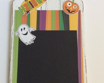 Halloween Picture Board