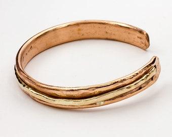 A Copper Cuff for Him or Her