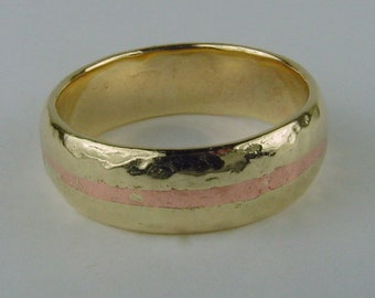 Seal your Vows with a Gold & Copper Band