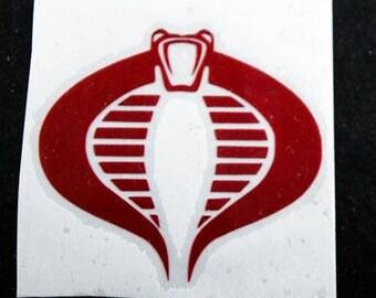Cobra Commander Logo Etsy
