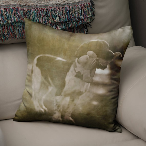 Peachy Dog Throw Pillow Springer Spaniel Bird Dog Couch Cushion Rustic Home Decor Dogs Pillow Case Large Decorative Pillow Mans Best Friend Andrewgaddart Wooden Chair Designs For Living Room Andrewgaddartcom