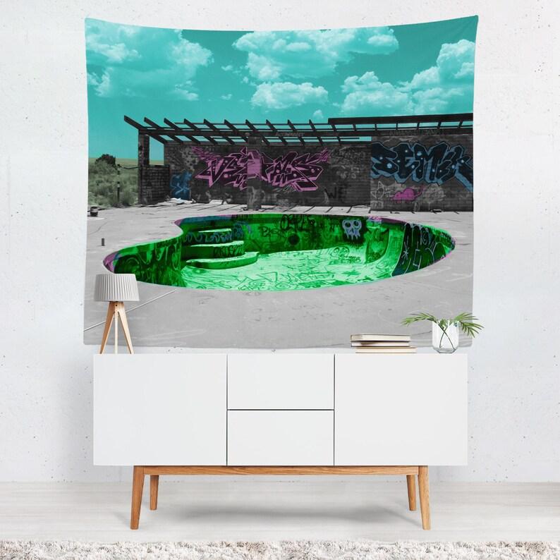 Eau Glacée et feu Chambre Salon Mur dortoir Decro pendaison tapisserie couverture