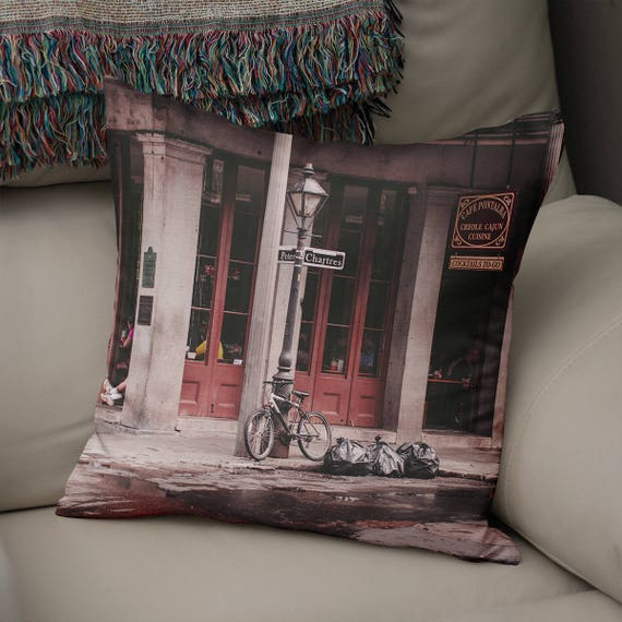 Home Decor New Orleans: New Orleans Decor Throw Pillow Modern Home Decor French