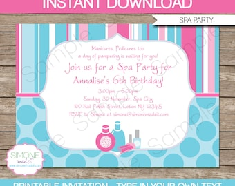 editable princess invitation template birthday party etsy