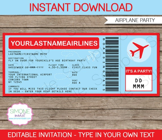 16 real & fake boarding pass templates 100% free template lab.