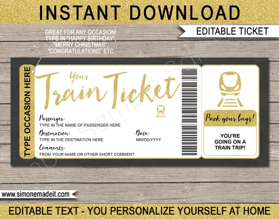 graphic regarding Train Template Printable referred to as Prepare Ticket Template Printable Phony Boarding P Present