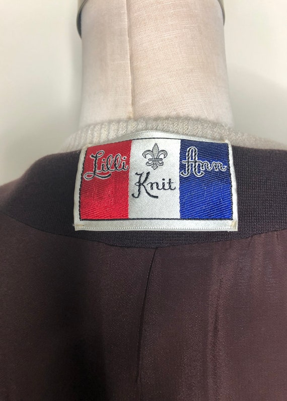 Lilli Ann Knit, jacket and dress, 60's Lilli Ann,… - image 7