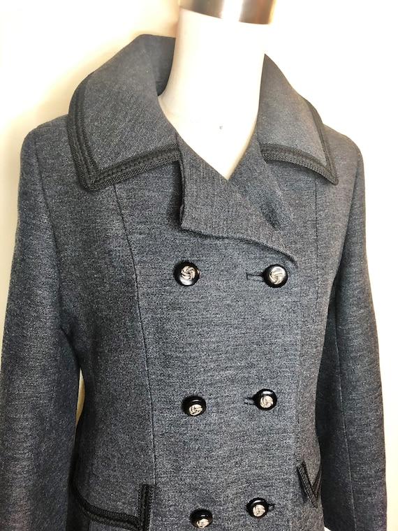 Penn Craft wool coat, princess line coat, double … - image 1