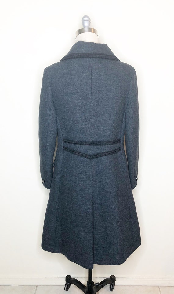 Penn Craft wool coat, princess line coat, double … - image 5