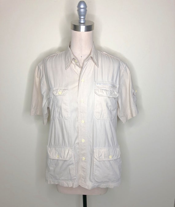Christian Dior Chemises shirt, safari shirt, work
